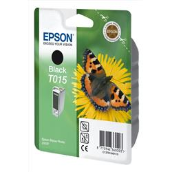 Epson Inkjet Cartridge Black for Stylus Photo 2000P Ref TO15401