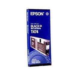 Epson T474 Black Ink Cartridge for Stylus Pro 9500