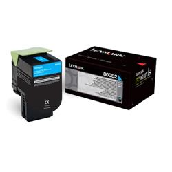 Lexmark 800S2 Standard Yield (2000 Pages) Toner Cartridge (Cyan)