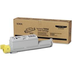 Xerox Yellow High Capacity Laser Toner Cartridge for Phaser 6360 Ref 106R01220