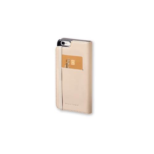 Foto Custodie iPhone Moleskine libro - beige - MOFLBKP6LBE Custodie smartphone
