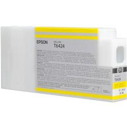 Epson T6424 UltraChrome K3 Ink Cartridge - 150ml (Yellow) for Epson Stylus Pro 7700/9700