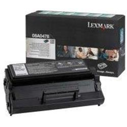Lexmark Laser Toner Cartridge Return Program Page Life 6000pp Black [for E320 322] Ref 8A0478