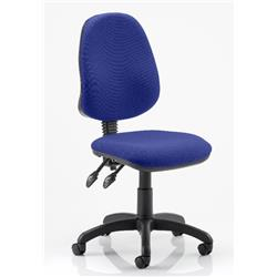 Eclipse II Task Operator Chair Serene Colour Fabric Without Arms Ref KCUP0227