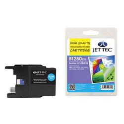 Jet Tec Brother Compatible LC1280CXL (13.5ml) Remanufactured Inkjet Cartridge