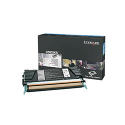 Lexmark Black Toner Cartridge for C530 Printer (Yield 1,500 pages)