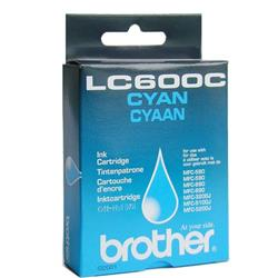 Brother Inkjet Cartridge Cyan for MFC580 90 Ref LC600C