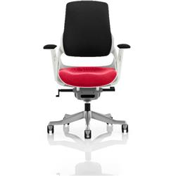 Zure Executive Chair Cherry Colour Seat With Arms Ref KCUP0697