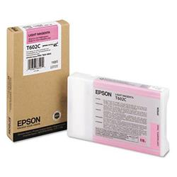 Epson T602C Light Magenta (110ml) Ink Cartridge for Stylus Pro 7800/9800