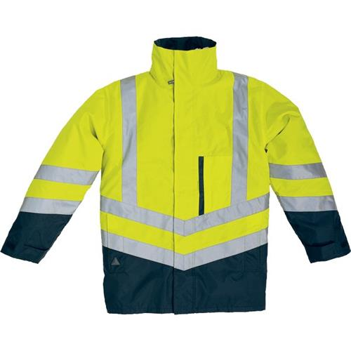 Foto Parka 4 in 1 optimum Delta Plus - giallo fluo/blu - L - OPTIMJMGT Gilet e giubbini