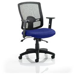 Portland II Task Operator Chair With Serene Colour Seat With Arms Ref KCUP0483
