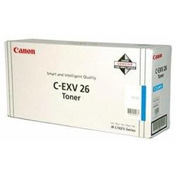 Canon C-EXV 26 (Cyan) Toner Cartridge (Yield 6,000 Pages)
