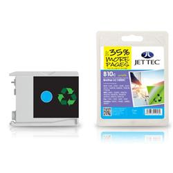 Jet Tec Brother Compatible LC1000C (20ml) Remanufactured Inkjet Cartridge