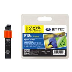 Jet Tec Epson Compatible T1801 (12ml) Remanufactured Inkjet Cartridge