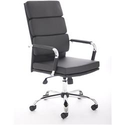 Advocate Executive Chair Executive Chair Black Bonded Leather With Arms Ref BR000204