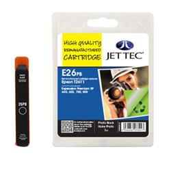Jet Tec Epson Compatible T2611 (7ml) Remanufactured Inkjet Cartridge