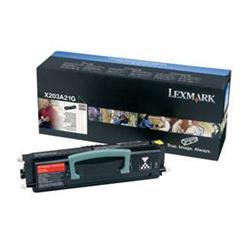 Lexmark Black Toner Cartridge (Yield 2,500 pages) for X203/X204 Mono Laser Multifunction Printer