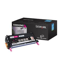 Lexmark X560 Magenta High Yield Toner Cartridge for X560n/X560dn Ref 0X560H2MG