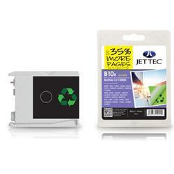 Jet Tec Brother Compatible LC1000BK (20ml) Remanufactured Inkjet Cartridge