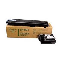Kyocera TK-82Y Yellow (Yield 10,000 Pages) Toner Cartridge for FS-8000 Printer