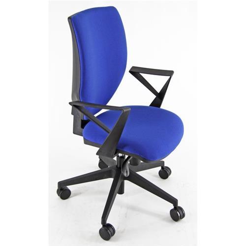 Foto Sedia ergonomica Syncro Marlin UNISIT - blu - CZAY/BR/EB Sedie ergonomiche