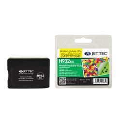 Jet Tec HP Compatible HP932XL (31ml) Remanufactured Inkjet Cartridge