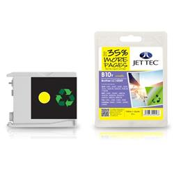 Jet Tec Brother Compatible LC1000Y (20ml) Remanufactured Inkjet Cartridge