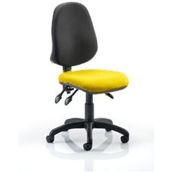 Eclipse III Task Operator Chair Sunset Colour Seat Without Arms Ref KCUP0269