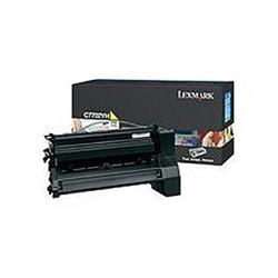 Lexmark C772 Yellow High Yield Print Cartridge (Yield 10,000)