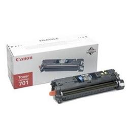 Canon 701 Black Toner Cartridge High Capacity (Yield 4,000 pages)