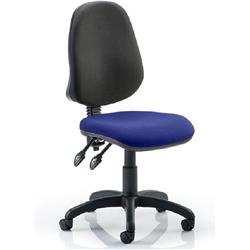 Eclipse II Task Operator Chair Serene Colour Seat Fabric Without Arms Ref KCUP0235