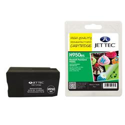 Jet Tec HP Compatible HP950XL/CN045AE (70ml) Remanufactured Inkjet Cartridge