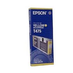 Epson T475 Yellow Ink Cartridge fro Stylus Pro 9500