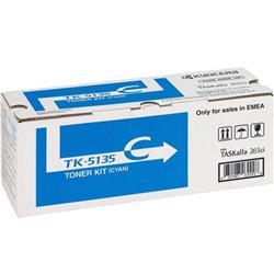Kyocera TK-5135C Cyan (Yield 5000 Pages) Toner Cartridge for TASKalfa 265ci, TASKalfa 266ci Printers