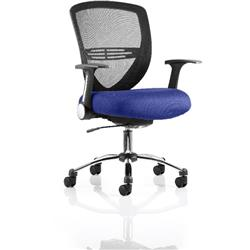 Iris Task Operator Chair Serene Colour Seat With Arms Ref KCUP0299