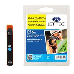 Jet Tec Epson Compatible T2612 (7ml) Remanufactured Inkjet Cartridge
