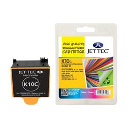 Jet Tec Kodak Compatible No 10 Remanufactured Colour Inkjet Cartridge