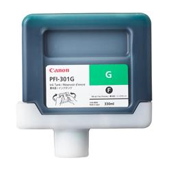 Canon PFI-301G (Green) Ink Tank 330ml (Pigment) for iPF8000