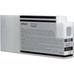 Epson T6421 UltraChrome K3 Ink Cartridge - 150ml (Photo Black) Epson for Stylus Pro 7700/9700