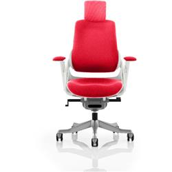 Zure Executive Chair Fully Cherry Colour With Arms Ref KCUP0689