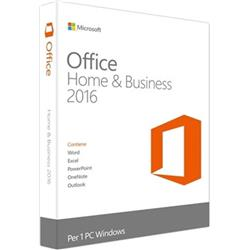 Microsoft Office Home and Business 2016 Licence 1 PC 32 or 64-bit Ref MRS-T5D-02826