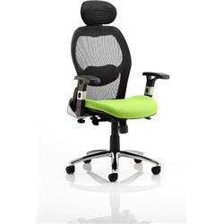 Sanderson Executive Chair Swizzle Colour Seat With Arms Ref KCUP0538