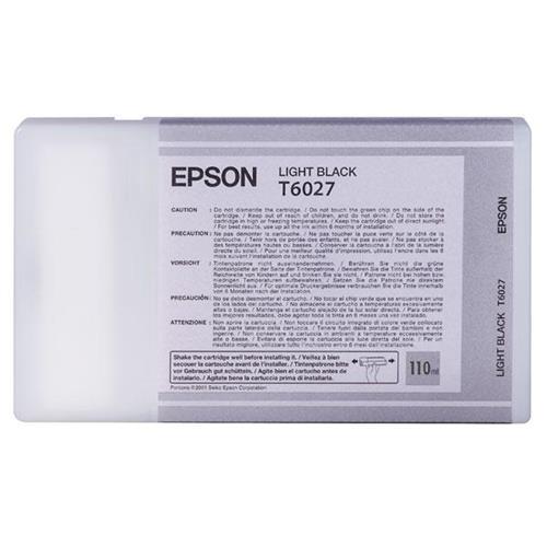 Epson T6027 Light Black Ink Cartridge For Stylus Pro 7800 9800