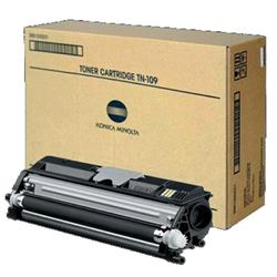Konica Minolta TN-109K Black Toner Cartridge (Yield 16,000 Pages) for Bizhub 130F