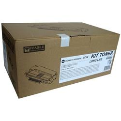 Konica Minolta TC-16 Toner Cartridge (Yield 16,000 Pages) Black