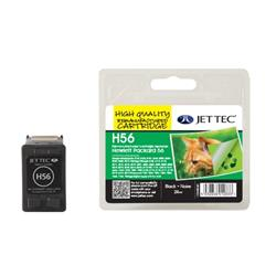 Jet Tec HP Compatible HP56 (24ml) Remanufactured Inkjet Cartridge