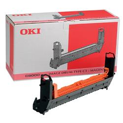 OKI Laser Drum Page Yield 39000pp for C9200 C9400 Magenta Ref 41514710