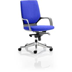 Xenon Executive Chair Black Medium Marine Back Serene Colour With Arms Ref KCUP0627