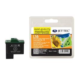 Jet Tec Lexmark Compatible No.16 10N0016E (15ml) Remanufactured Inkjet Cartridge