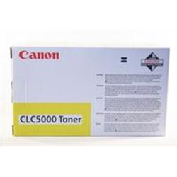 Canon CLC5000 (Yellow) Toner Cartridge (Yield 15,000 Pages)